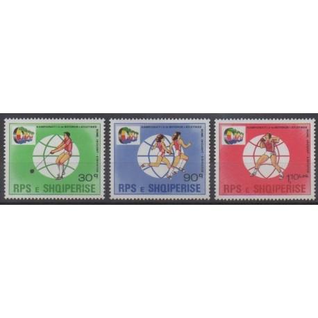Albania - 1987 - Nb 2148/2150 - Various sports