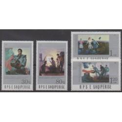 Albanie - 1987 - No 2144/2147 - Peinture