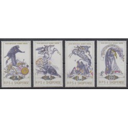 Albanie - 1989 - No 2183/2186 - Folklore