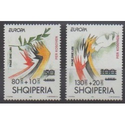 Albania - 2001 - Nb 2541/2542