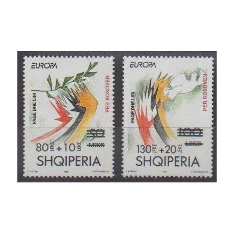 Albanie - 2001 - No 2541/2542