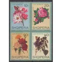 Albania - 2001 - Nb 2557/2560 - Flowers