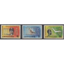 Antilles néerlandaises - 1986 - No 778/780 - Droits de l'Homme