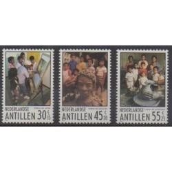 Netherlands Antilles - 1986 - Nb 775/777 - Childhood
