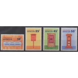 Netherlands Antilles - 1986 - Nb 781/784 - Postal Service