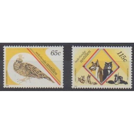 Netherlands Antilles - 1989 - Nb 845/846 - Animals