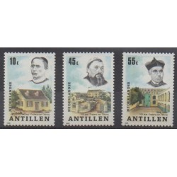 Antilles néerlandaises - 1986 - No 789/791 - Religion