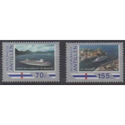 Antilles néerlandaises - 1989 - No 847/848 - Tourisme
