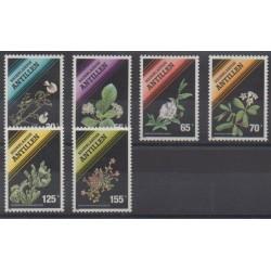 Antilles néerlandaises - 1990 - No 861/866 - Fleurs