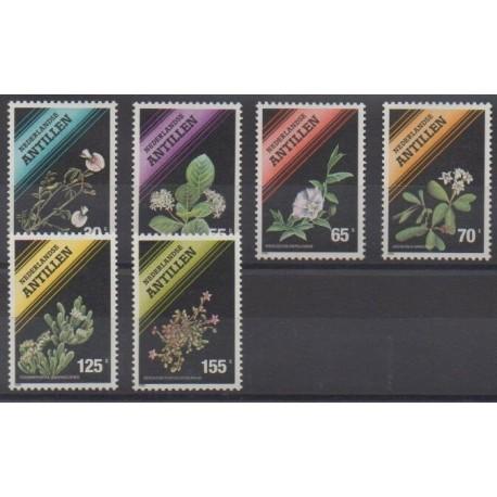 Netherlands Antilles - 1990 - Nb 861/866 - Flowers