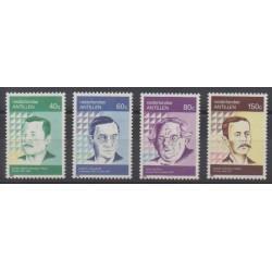 Antilles néerlandaises - 1990 - No 875/878 - Littérature