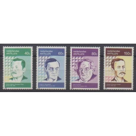 Netherlands Antilles - 1990 - Nb 875/878 - Literature