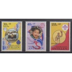 Antilles néerlandaises - 1990 - No 867/869 - Scoutisme