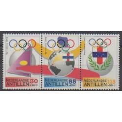 Antilles néerlandaises - 1992 - No 924/926 - Jeux Olympiques d'été