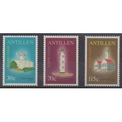 Antilles néerlandaises - 1991 - No 909/911 - Phares