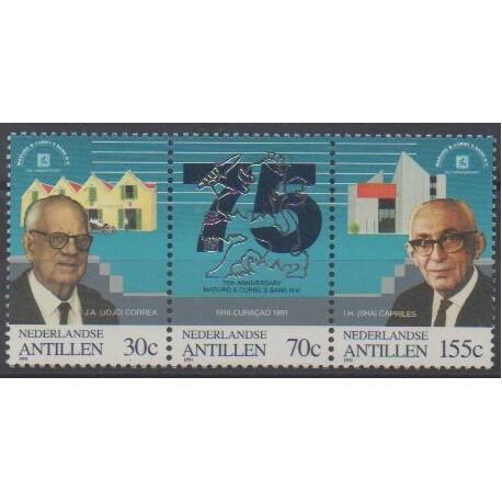 Antilles néerlandaises - 1991 - No 917/919 - Célébrités
