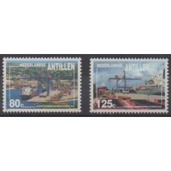 Antilles néerlandaises - 1992 - No 929/930 - Navigation