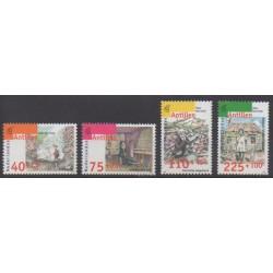 Antilles néerlandaises - 1996 - No 1052/1055