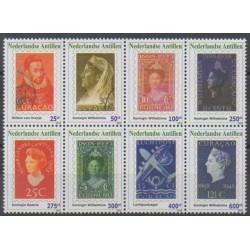 Antilles néerlandaises - 2010 - No 1979/1986 - Timbres sur timbres