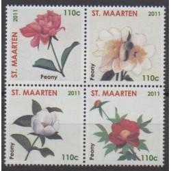 Saint-Martin - 2011 - No 8/11 - Fleurs