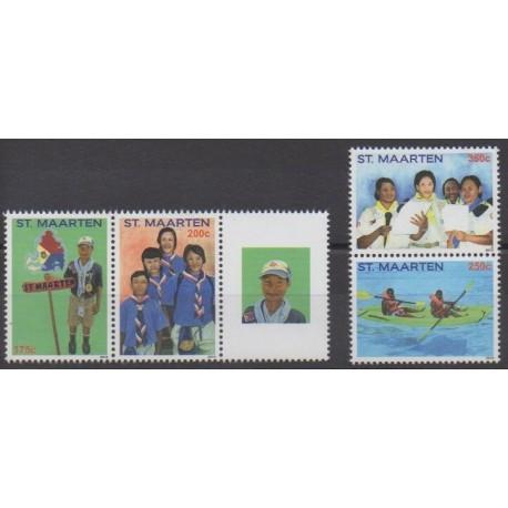 Saint-Martin - 2013 - No 181/184 - Scoutisme