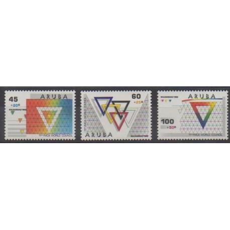 Aruba - 1988 - No 46/48 - Religion