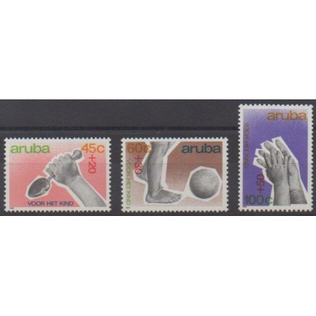 Aruba - 1989 - No 64/66 - Enfance