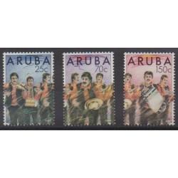 Aruba (Netherlands Antilles) - 1989 - Nb 67/69 - Music