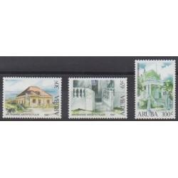 Aruba (Netherlands Antilles) - 1997 - Nb 193/195 - Architecture