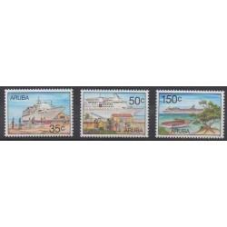 Aruba (Netherlands Antilles) - 1997 - Nb 205/207 - Boats