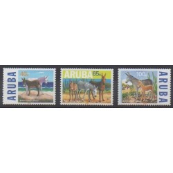 Aruba (Netherlands Antilles) - 1999 - Nb 229/231 - Mamals