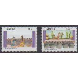 Aruba - 2001 - No 271/272