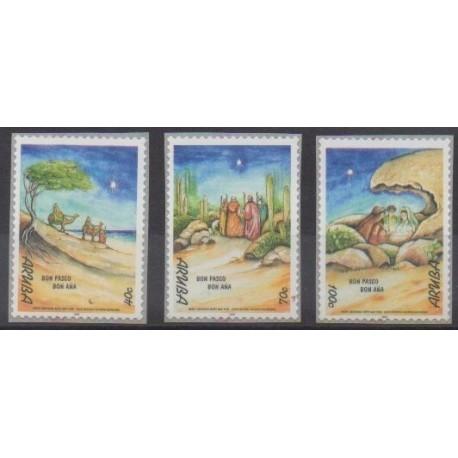 Aruba (Netherlands Antilles) - 1999 - Nb 247/249 - Christmas