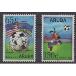 Aruba (Netherlands Antilles) - 1994 - Nb 142/143 - Soccer World Cup