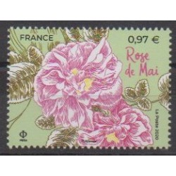 France - Poste - 2020 - Rose de Mai - Roses