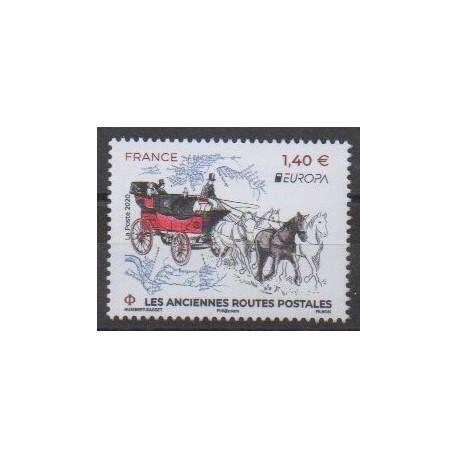France - Poste - 2020 - No 5397 - Service postal - Europa