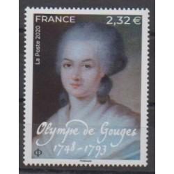 France - Poste - 2020 - Olympe de Gouges - Paintings