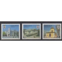 Moldavie - 1996 - No 183/185 - Églises