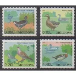 Moldavie - 1996 - No 172/175 - Oiseaux