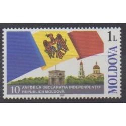 Moldova - 2001 - Nb 347 - Various Historics Themes