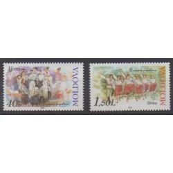 Moldavie - 2002 - No 367/368 - Folklore