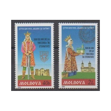 Moldavie - 2004 - No 424/425