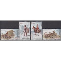 Moldova - 2012 - Nb 686/689 - Military history