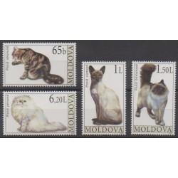 Moldova - 2007 - Nb 510/513 - Cats