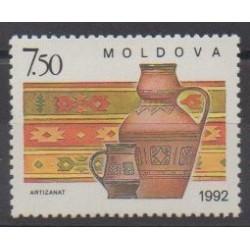 Moldavie - 1992 - No 43 - Artisanat ou métiers
