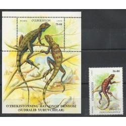 Ouzbékistan - 1999- No 142 - BF 17 - Animaux