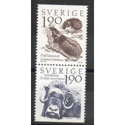 Sweden - 1984- Nb 1256/1257 - Animals