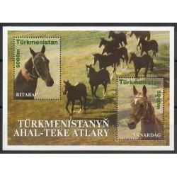 Turkmenistan - 2001- Nb BF 30 - Horses