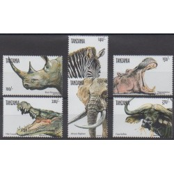 Tanzanie - 1999 - No 2691/2695 - Mammifères