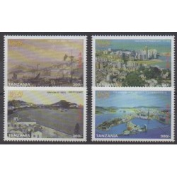 Tanzania - 1999 - Nb 2848/2851 - Paintings - Philately